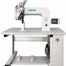 Машина для герметизации шва JACK JK-6200 с приводными  верхним и нижним роликом