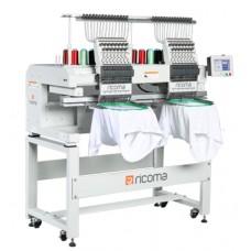 Промышленная двухголовочная вышивальная машина RICOMA MT-1202
