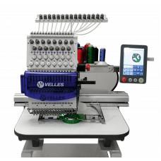 Одноголовочная вышивальная машина VELLES VE 27C-TS. Премиум комплектация