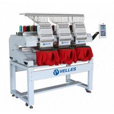 Трёхголовочная вышивальная машина VELLES VE 1503 CAP-SE2