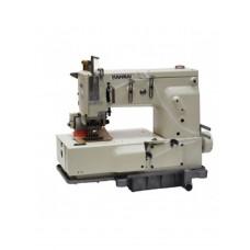 Промышленная швейная 6-ти игольная машина KANSAI DFB-1406PMD с плоской платформой