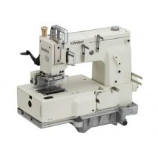 Промышленная швейная 12-ти игольная машина KANSAI DFB-1412PMD с плоской платформой